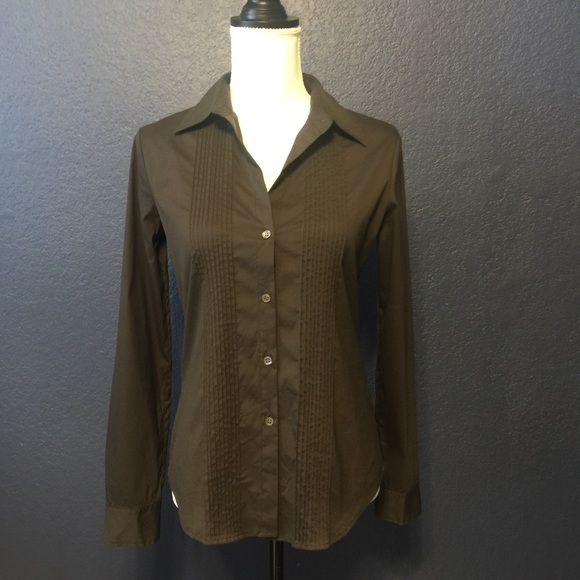 Theory Tops - THEORY BUTTON UP TAILORED SHIRT